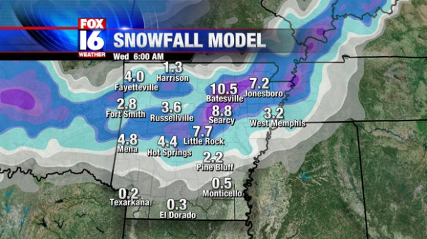 Winter Storm Coming Christmas Day FOX 16