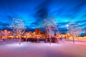 anchorage Alaska Christmas holiday travel