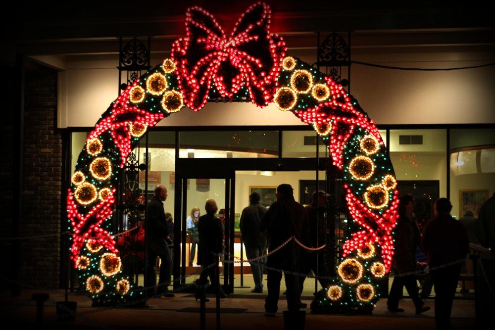 Christmas Lights at Bestselling Gardens Alabama