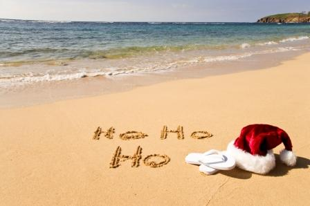 Christmas beach holiday1