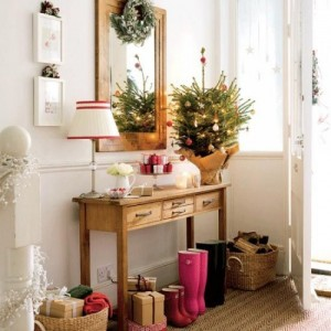 Christmas home decorating ideas front room 1