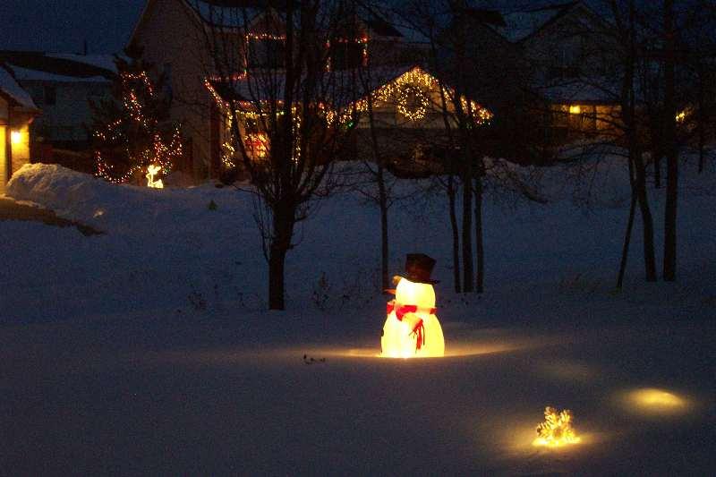 Christmas lights snow MAGIC 08 | Pin Xmas