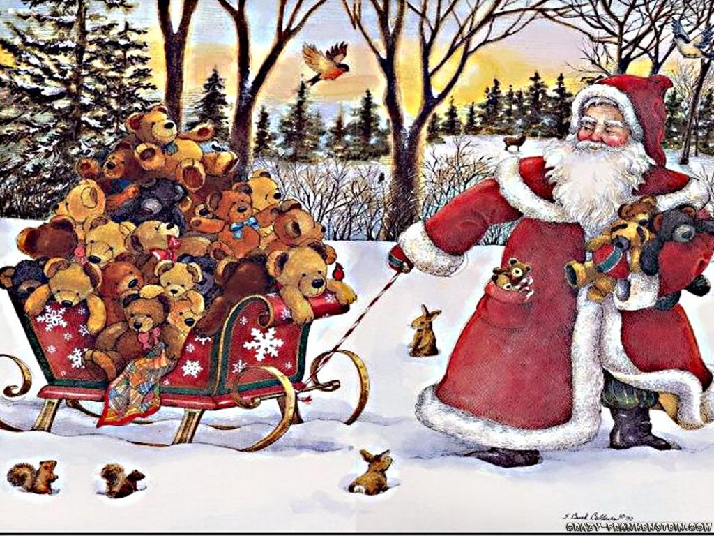 Christmas Santa Pictures   Pin Xmas