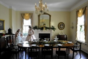 Antebellum Christmas traditions Blowing up anvils was family fun