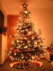 Christmas tree lights 1