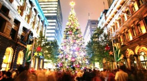 Christmas tree Sydney Australia