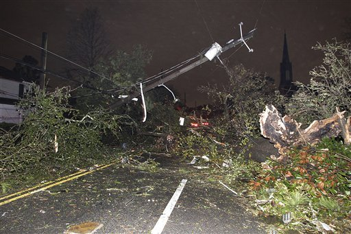 Christmas storm brings tornadoes to Louisiana Alabama