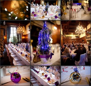 Christmas Wedding Reception Details 12