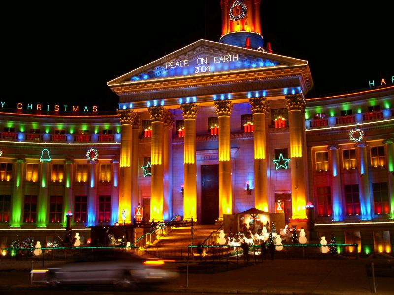 Colorado Christmas lights tour