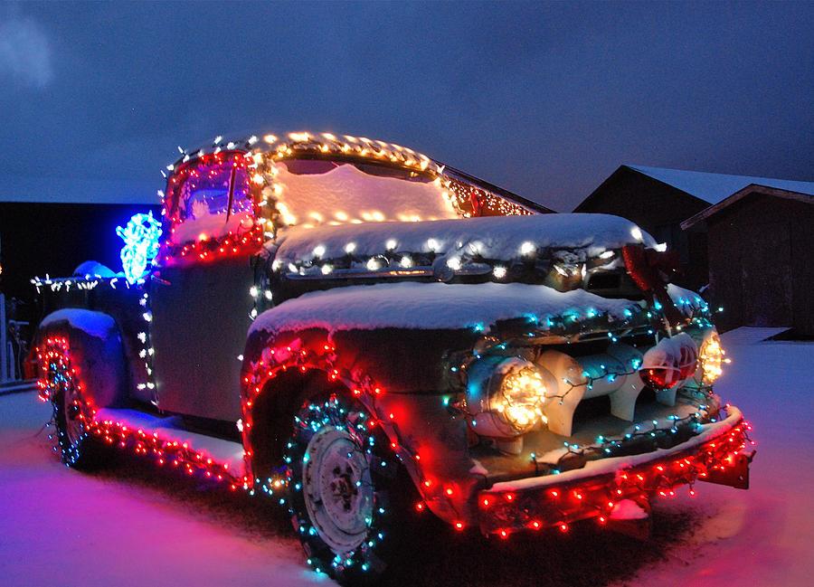 Colorado Christmas truck bob Merwyn