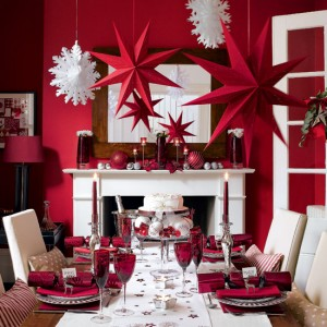 Dining Room Christmas decoration
