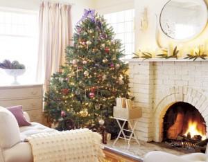 Living room Christmas Vachon HTOURS