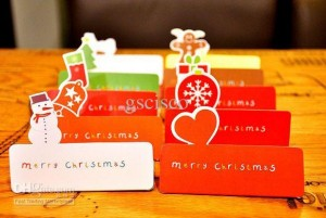 lot Christmas greeting cards suit