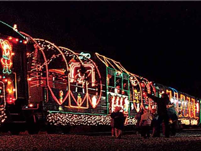 Niles Canyon Christmas Train California