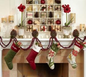 Pottery Barn Christmas Socks Home Decoration