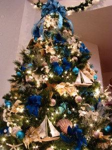 Sailing Boat Themed Christmas Tree