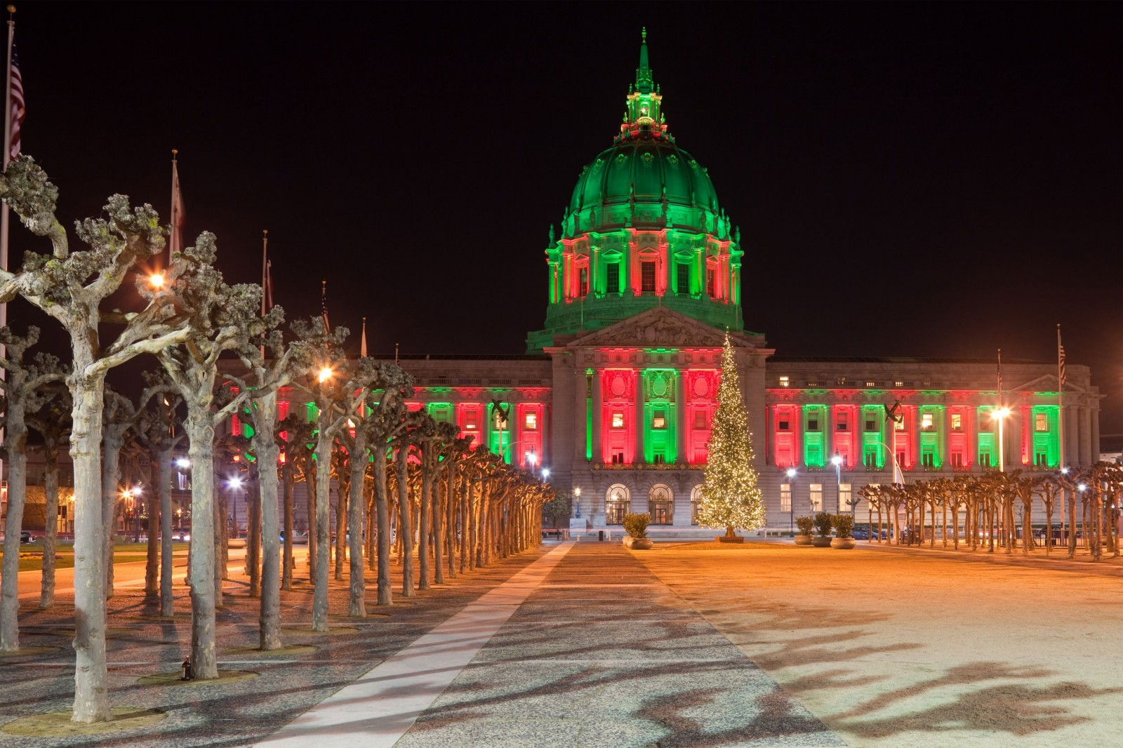 zoom from d1vmp8zzttzftqcloudfrontnet san francisco city hall illuminated in christmas