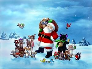 Santa Christmas wallpaper 5