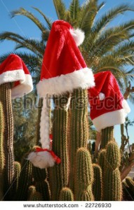Santa hats quot for Christmas in Arizona