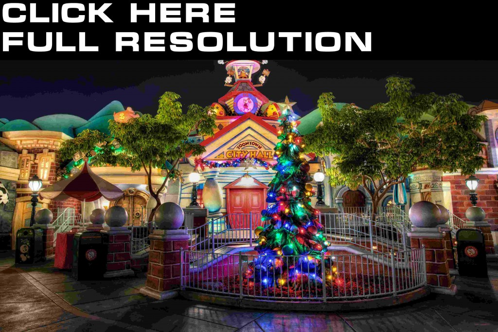 Wallpapers USA Parks Disneyland Christmas tree HR Night