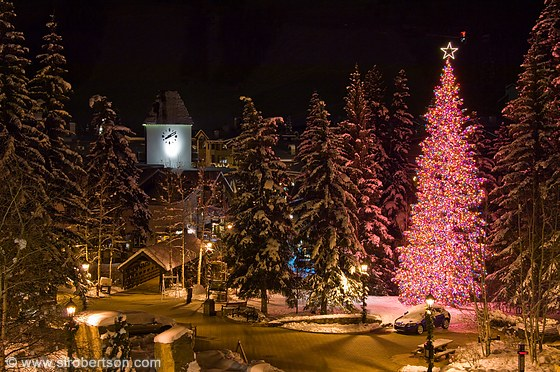 Vail Christmas lights 1