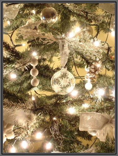 White christmas tree decorations pin xmas for White xmas decorations