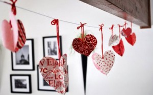 Valentine's Day Garland
