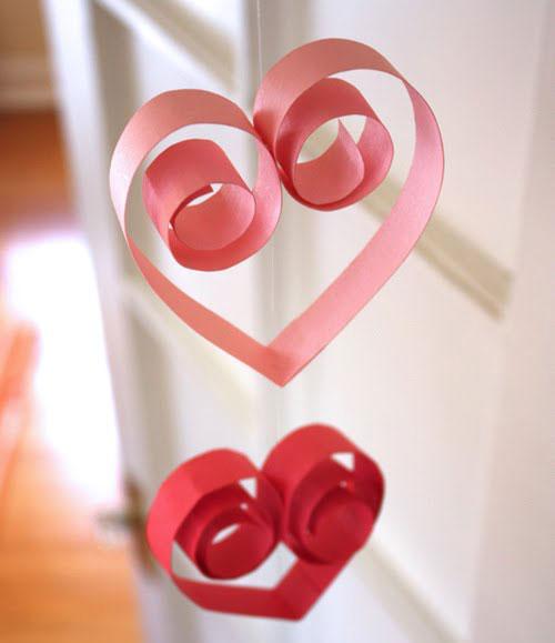 Valentine's Day Garland tutorial