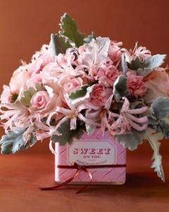 Valentine's Day Flower Decoration