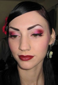 Valentine's Day Make Up Look