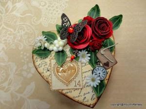 Miniature Valentine Gift Box