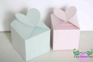 Valentine's Heart Closure Favor Box
