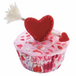 Arrow For Your Beau Cupcake