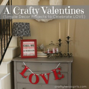 Crafty Ideas to add a little 'love' to your home.