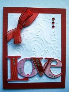 Stunning Love Card…