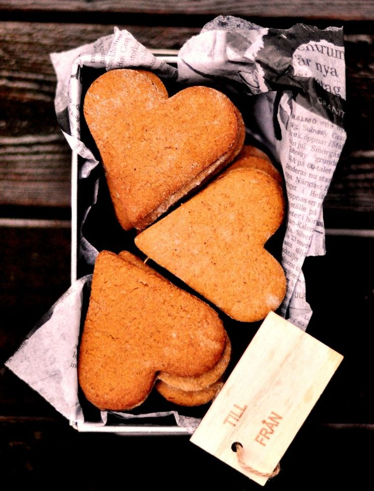 Simply The Healthiest And Most Fragrant Swedish Ginger Cookies Ever