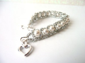 Little Girls Pearl Bracelet