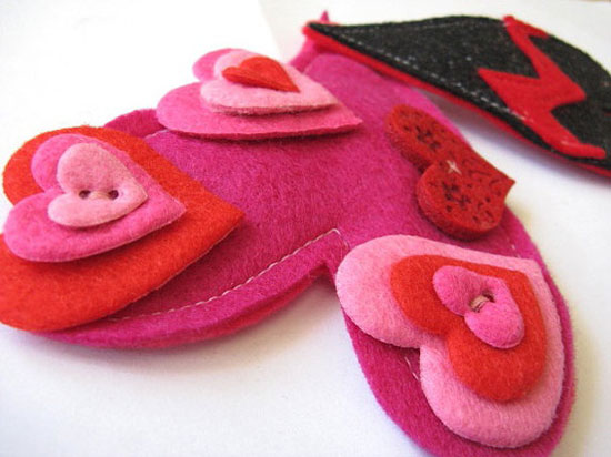 Indecisive Valentine Hair Clips