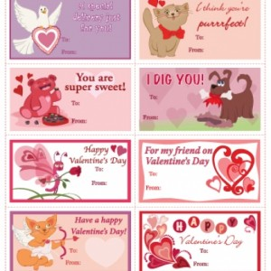 Printable Valentine's Day Cards Get your special message to a friend with these sweet Valentine's Day cards