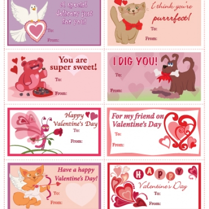 Printable Valentines Day Cards Get your special message to – Sweet Valentine Card