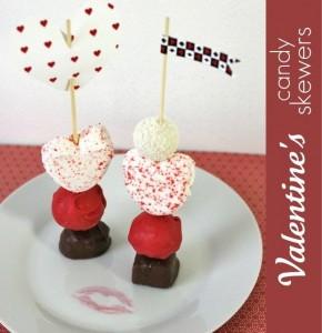 Valentine Dessert Skewers