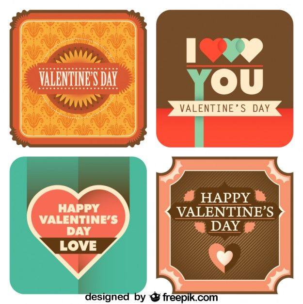 Vintage / Retro Valentine's Day Printables #valentines #valentinesday #printables #retro #vintage