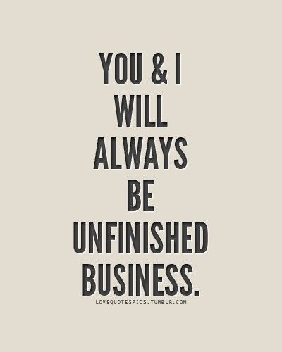 Unfinished……