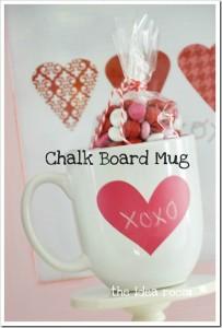 Chalkboard Gift Mug