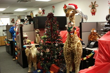 Attrayant Office Xmas Decorations