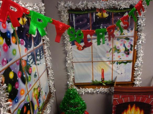 Xmas Office Decorations Ideas