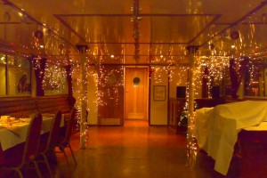 Christmas party venue in office