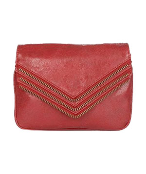 Hendrix Zipper Crossbody Bag by Matt & Nat Two bags in one, this synthetic leather purse can be carried as a clutch or slung across your body with an optional metal strap. Noteworthy detail: The lining is made from recycled plastic bottles.