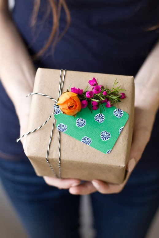 Fresh Flower Gift Tag