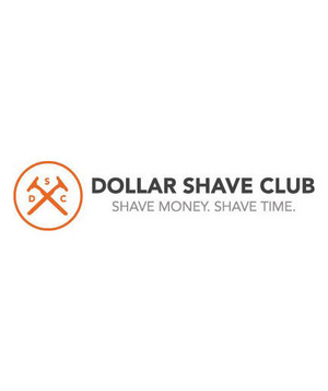 The Dollar Shave Club If you're sick of nagging your guy about shaving those stubbles, it's time to do something about it. Treat him to a membership to the Dollar Shave Club, which will deliver the essentials (two stainless steel blades, five cartridges, moisturizing strips) to his doorstep each month.